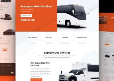 servicio de trasporte